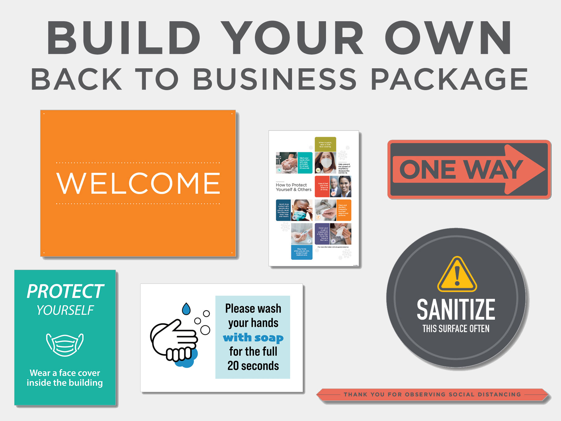 Build Your Own Back to Business Package